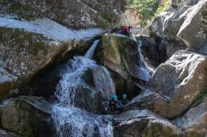 cascade dans les gorges du Tapoul
