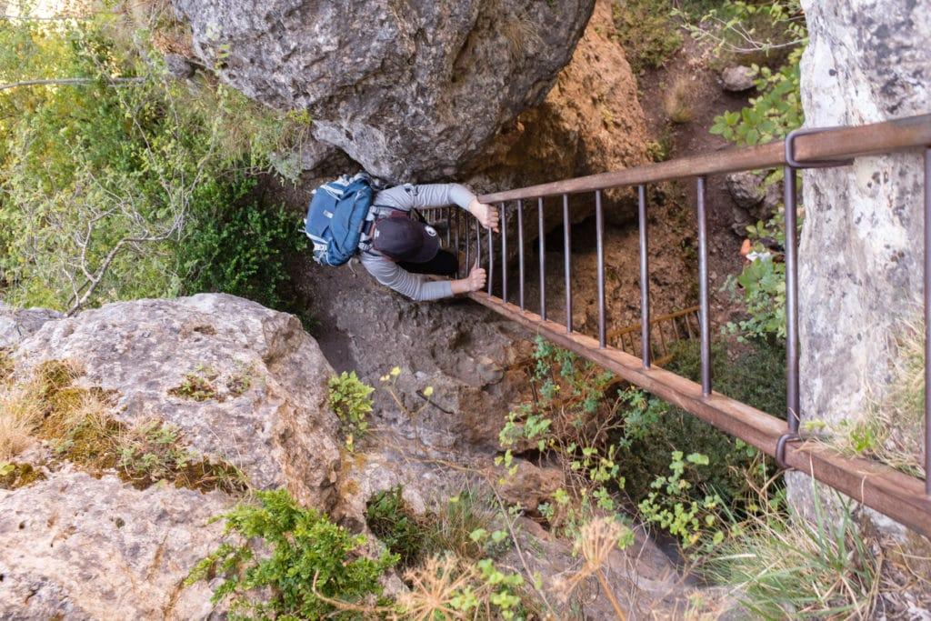 échelle de la randonnée du Cinglegros